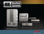 NK Series Routing System - Ross Video