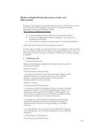 Allmän studieplan för licentiatexamen i konst- och bildvetenskap