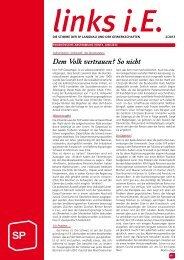 Ausgabe 2/2013 - SP Langnau