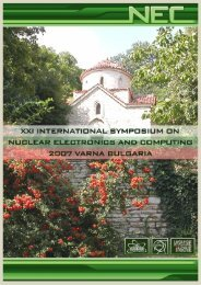 Download - XXIII International Symposium on Nuclear Electronics ...