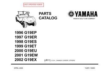 2000 G19 EU - Bennett Golf Cars