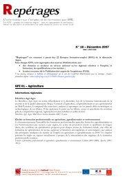 Repérages n° 16 - Carif Oref Midi-Pyrénée