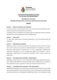 Concorso Internazionale - Cremona City Hub - Ordine degli Architetti