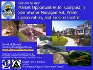 Market Opportunities for Compost in Stormwater Management ...