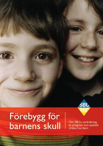 Ladda ner broschyren (pdf) - SBU