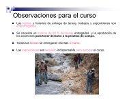 Reglas del curso - UNAM