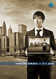 výroční zpráva za rok 2010 - JKR