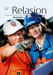 Relasjon • 4/2008 - Skanska