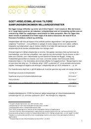 Arbejdsmiljøet valgkamp udvidet-it - Arbejdsmiljørådgiverne
