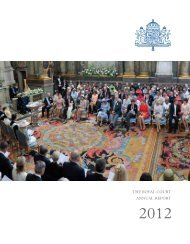 Read the Annual Report of 2012 - Sveriges Kungahus