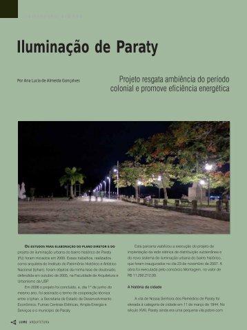 Iluminação de Paraty - Lume Arquitetura