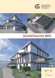 Geschäftsbericht 2012 - Gemeinnützige Wohnstätten eG Wolfenbüttel