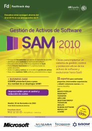 programa de la conferencia SAM 2010 (231 KB, pdf) - ATI