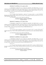 Separata do Boletim Nº 18-20 (Presidência) - Funai