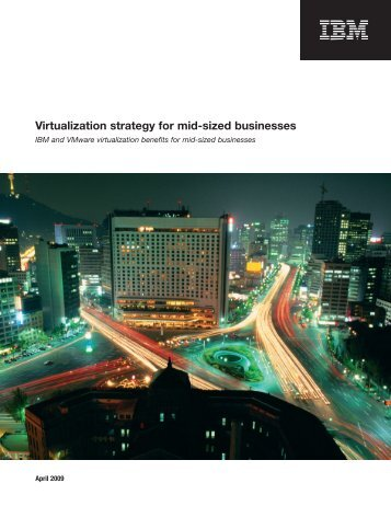 IBM - Virtualization Strategy for Mid-Sized Businesses - Echo Sys IT ...