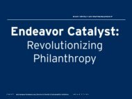2011 Endeavor Entrepreneurs Summit