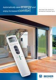 Constructor brochure Roller shutters.pdf - Becker Antriebe GmbH