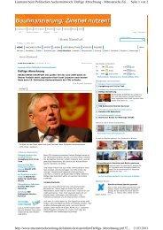 Seite 1 von 2 Laumann beim Politischen Aschermittwoch: Deftige ...
