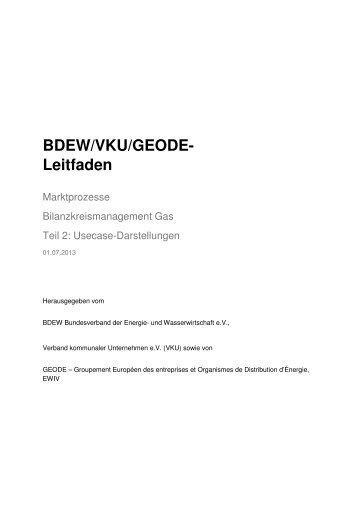 Bilanzkreismanagement Gas Teil2 (Usecase) - Geode