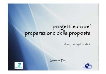 Come scrivere una proposta di progetto - CNR Area della Ricerca di ...