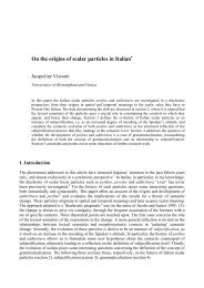 The purpose of this paper is twofold: (i) to investigate the origins of ...