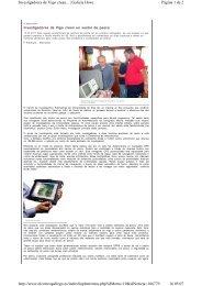 Página 1 de 2 Investigadores de Vigo crean...   Galicia Hoxe 16.05 ...