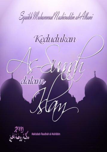 Kedudukan As-Sunnah dalam Islam – Pdf File