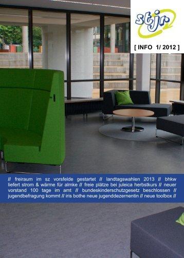 [ INFO 1/ 2012 ] - Stjr.de