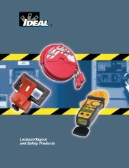 Lockout/Tagout and Safety Products - Trend Communications Ltd.