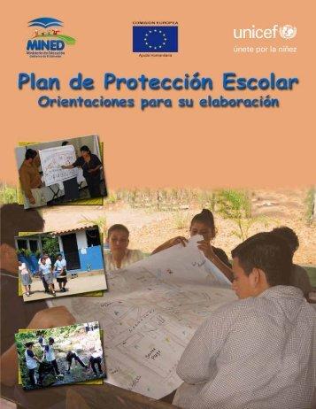 Plan de Protección Escolar - Ministerio de Educación de El Salvador