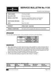 SERVICE BULLETIN No.1135 - ABC Companies