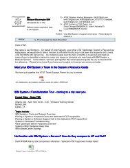 Vital IBM System x Support In - IBM Quicklinks