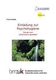 Einladung zur Psychohygiene - Schulpsychologie