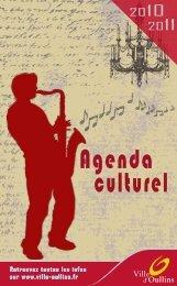 Agenda culturel 2010/2011 de la Ville d'Oullins