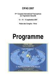 CIFAS 2007