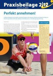 Swiss Volley Magazine / Praxisbeilage 2012-2