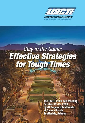 Effective Strategies for Tough Times - USCTI