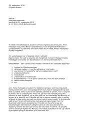 Arbejdsgruppe vedr. registrering og terminologi 25. september 2012