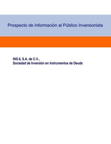 Prospecto de Información al Público Inversionista - Actinver