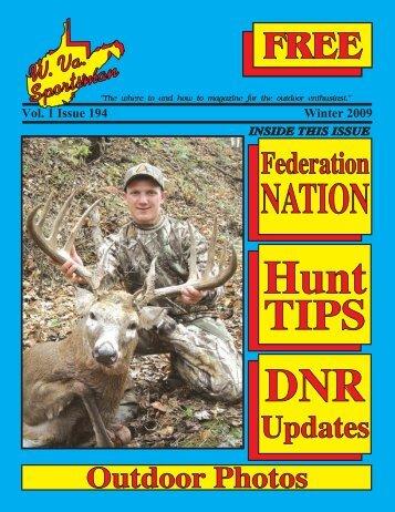 Winter 2010 Issue - Wvasportsman.net