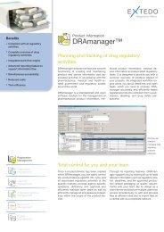 DRAmanager™ - Extedo