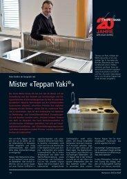 Mister «Teppan Yaki®» - Immoinfo24