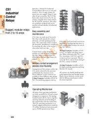 CS1 Control Relays E-Catalog - Sprecher + Schuh