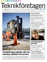 Teknikföretagen Direkt nr 1 2007