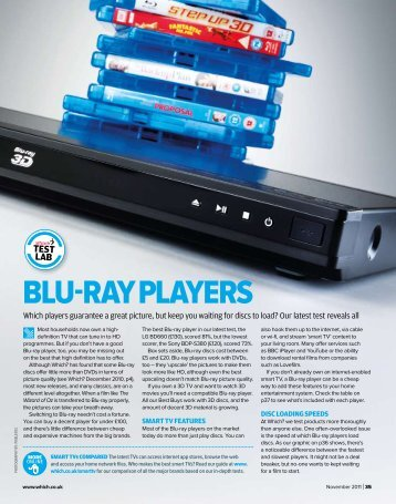 Test Lab: Blu-ray players - Which.co.uk