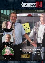 Splinternyt autoværksted til erhvervskunderne - businessnyt.dk