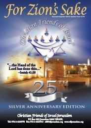 FZS - 2nd Quarter 2010 - Christian Friends of Israel