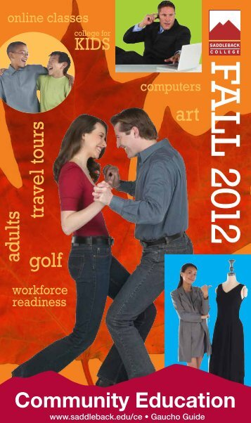 Fall 2012 Catalog (PDF) - Saddleback College