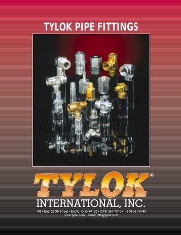 tylok pipe fittings.pdf - Bay Port Valve & Fitting