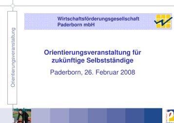 Wirtschaftsförderungsgesellschaft Paderborn mbH